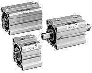 SMC薄型气缸CDQ2B25-20D