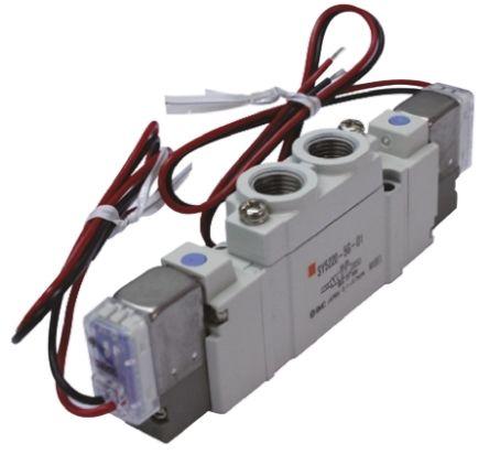 SMC压铸铝气动电磁阀SY5520-4DZD-01系列