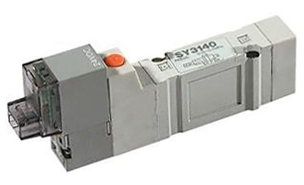 SMC压铸铝电磁/先导气动电磁阀SY5140-5LOUD-Q系列