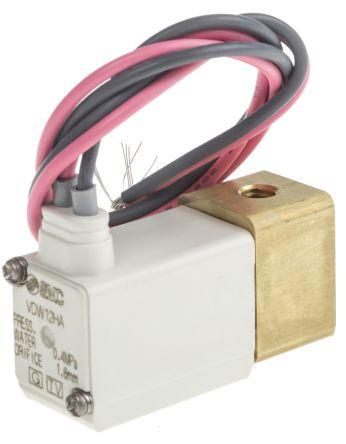 SMC螺纹铝电磁/弹簧气动电磁阀VDW22PAA系列