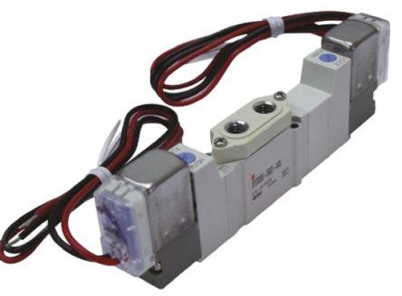 SMC压铸铝气动电磁阀SY5220-5DD-01系列