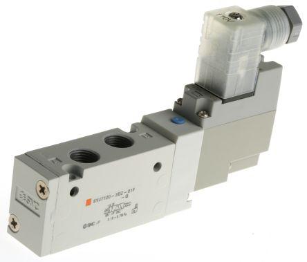SMC螺纹压铸铝电磁/弹簧气动控制阀SYJ7120-3DZ-01F-Q系列