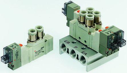 SMC螺纹压铸铝电磁/先导气动控制阀SY5220-6LOZ-01F-F2-Q系列