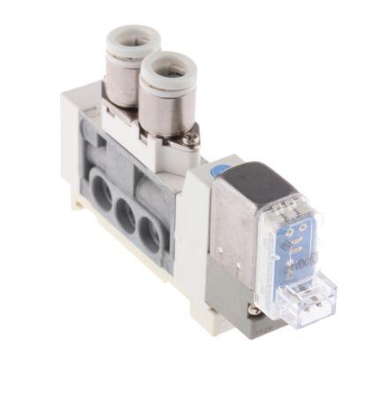 SMC压铸锌电磁/先导气动控制阀SY3160-5LOU-C6-Q系列