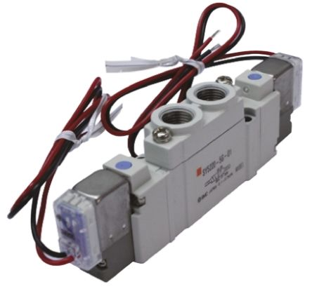 SMC压铸铝气动电磁阀SY5220-4LZE-01系列
