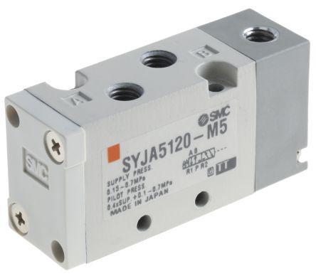 SMC螺纹先导/弹簧气动控制阀SYJA712-01F系列