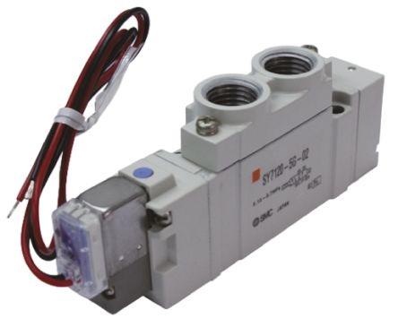 SMC压铸铝气动电磁阀SY5120-5LZE-01系列