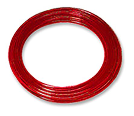 SMC红色聚氨酯空气软管TIUB07R-20系列